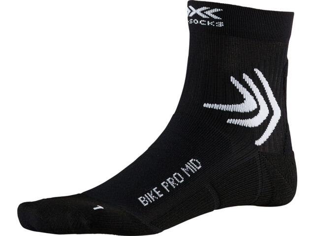 X-Socks Bike Pro Calcetines de longitud media, opal black